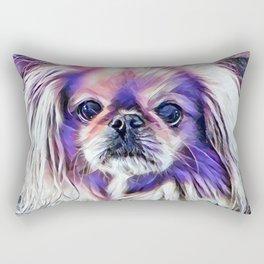 Peak in purple Rectangular Pillow