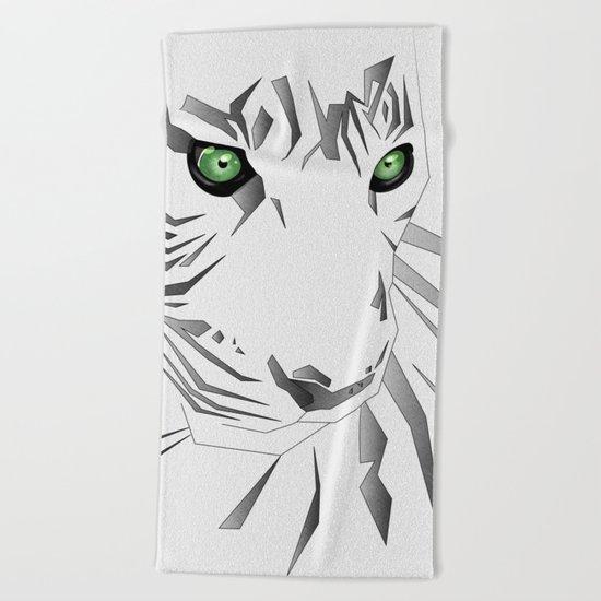 Tiger's  Soul Beach Towel