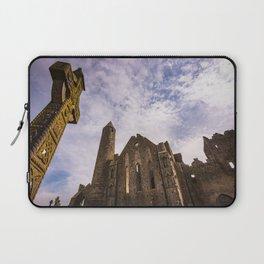 Rock of Cashel historic ruins in Ireland Laptop Sleeve