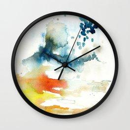 Ominous Silence Wall Clock