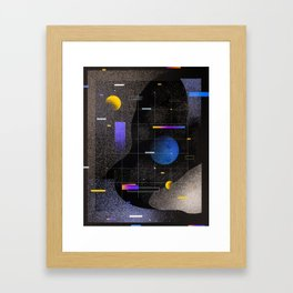 Cool Universe Framed Art Print