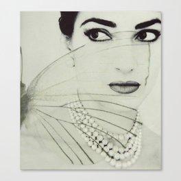 Madam Butterfly - Maria Callas Canvas Print