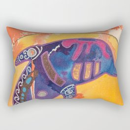 Fantastic animal - Little dolphin - by LiliFlore Rectangular Pillow