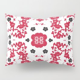 Bloody Blossoms Pillow Sham