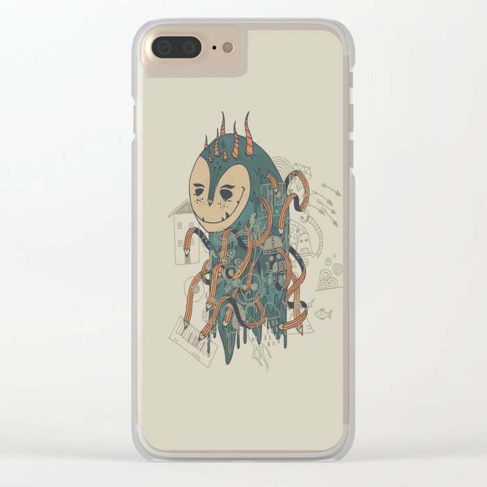 The Doodler Clear iPhone Case