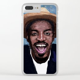 Andre Benjamin Clear iPhone Case