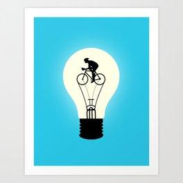 Idea Power Art Print