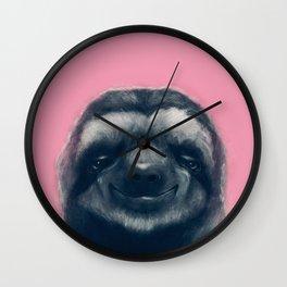 Sloth #1 Wall Clock