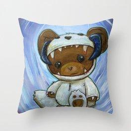 Mr. Chompypants meets a Wampa Throw Pillow