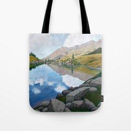 Lago Stelluna, Trentino Tote Bag