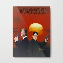 Showdown in Singapore Metal Print