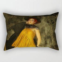 Fire Witch Rectangular Pillow