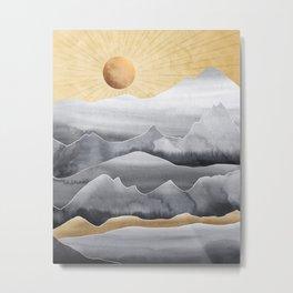 Mountainscape / Day Metal Print