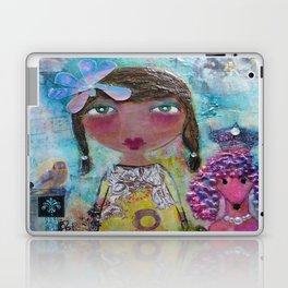 Phoebe & Poof - Whimsies of Light Children Series Laptop & iPad Skin