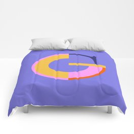 G - Vicente Typeface Comforters
