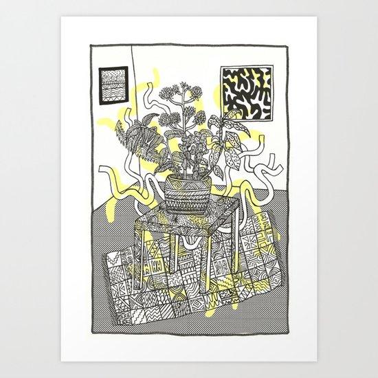 wild plants Art Print