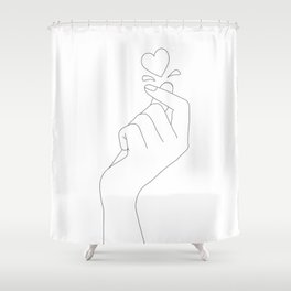 Love Snap Shower Curtain