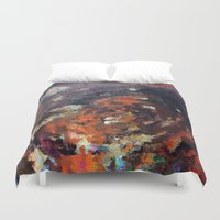scream Duvet Covers featuring Scream by MonsterBrown