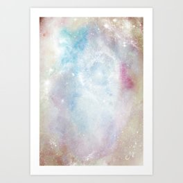 Space Implode Art Print
