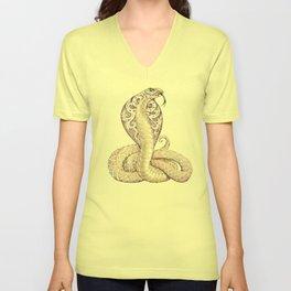 Cobra Snake Tattoo Unisex V-Neck