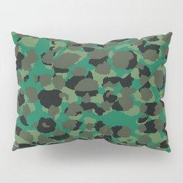 Emerald Leopard Spots Pillow Sham