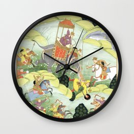 El Rey Wall Clock