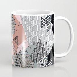 Mashed Up Geometry Coffee Mug