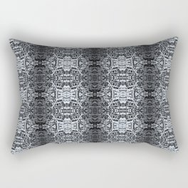 Skull and Bone Piles Rectangular Pillow