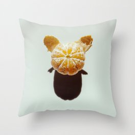 Clementine Shadow Character Throw Pillow