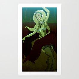 Oola's Fate Art Print