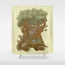 Atlas Reborn Shower Curtain