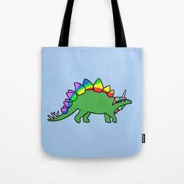 Stegocorn (Unicorn Stegosaurus) Tote Bag