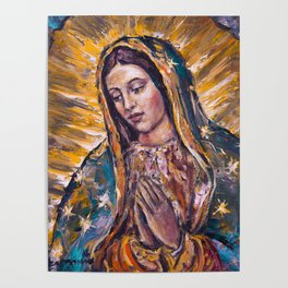 Guadalupe's Virgin Poster