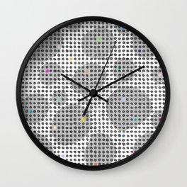 Spot Light in the Dark Wall Clock