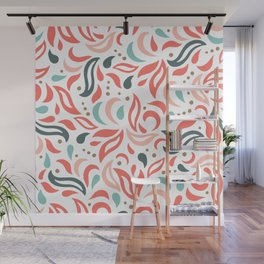 Coral Fest Wall Mural