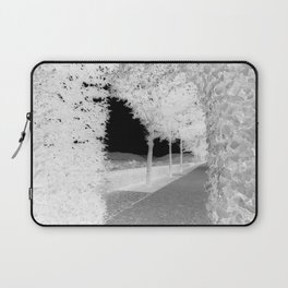 Black & White Path Laptop Sleeve