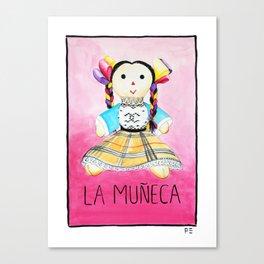 La Muñeca Canvas Print