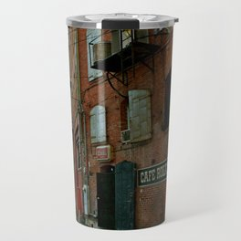 Alley in Bisbee Travel Mug