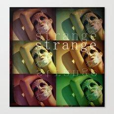 Strange Model Canvas Print