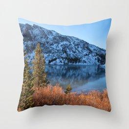 Frozen Lake Ellery Throw Pillow