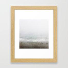 Shoreline Stormline  Framed Art Print