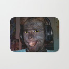 Monkey Face Bath Mat