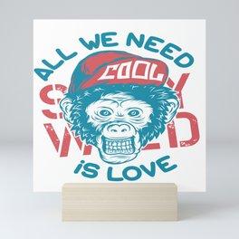 All we need is Love Mini Art Print
