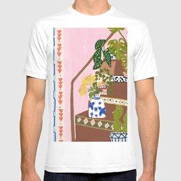 Bohemian stairs T-shirt