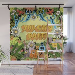YOU CAN DO IT! Wall Mural