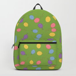 Multi Colored Balloon Pattern Backpack