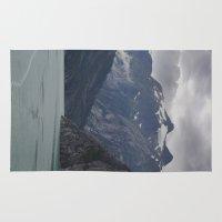 alaska Area & Throw Rugs featuring Alaska by Tasha Marie
