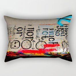 Love Letter in Krog Street Tunnel Rectangular Pillow