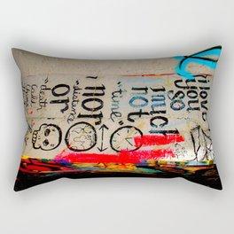 Love Letter in Krog Street Tunnel Rectangular Pillow
