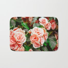 FLOWERS - FLORA - PETALS - BLOSSOMS - BEAUTIFUL Bath Mat
